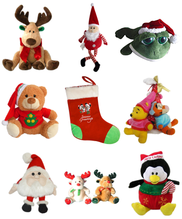 Soft Cuddly Toy  Plush - Christmas / Promotional product fully customized  to your requirement UK Supplier