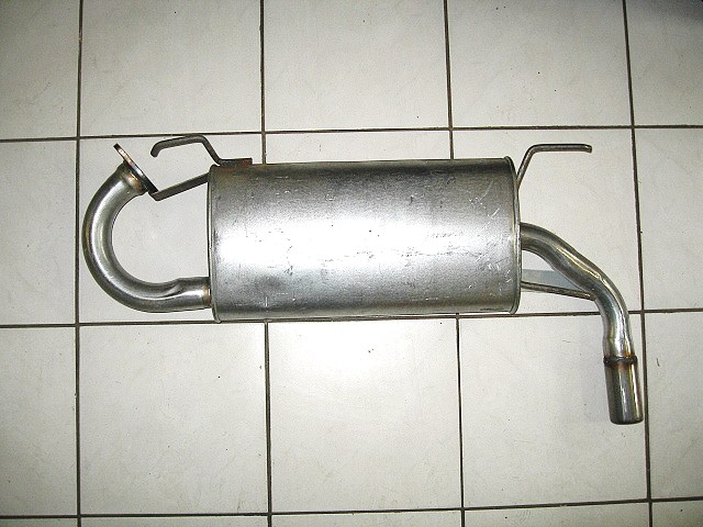 Mazda MX5 Mk2, 2.5 Rear Back Box Silencer
