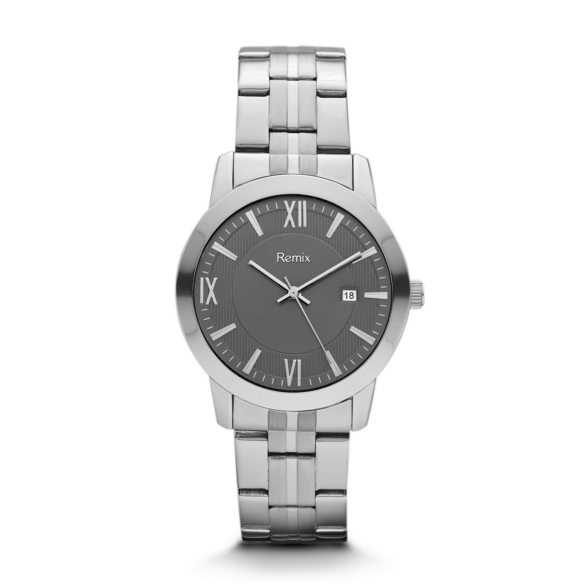 ?Classic Stainless-Steel Grey Dial ?/ Promotional product fully