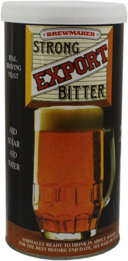 Brewmaker Export Bitter 40 Pint 1.8kg Home Brew Beer Kit