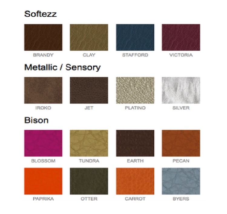Owen Barry Leather Colour Palette