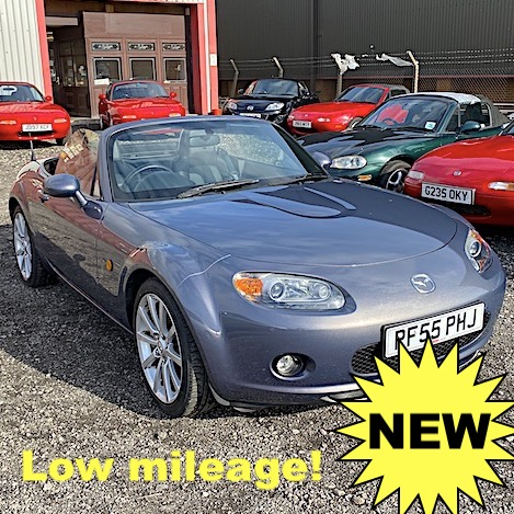 2006 Mazda MX-5 Mk3 2.0 Sport in Galaxy Grey