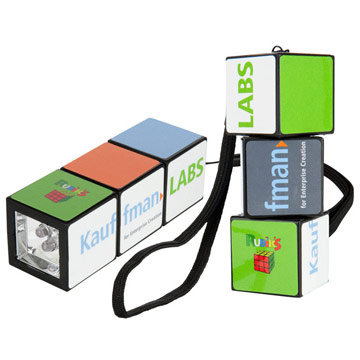 Rubik's LED Torch (Large) / Promotional product fully customized  to your requirement UK Supplier