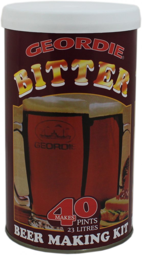 Geordie Bitter 40 Pint 1.6kg Home Brew Beer Kit