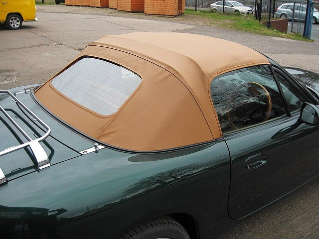 Tan Vinyl Hood for MX5 Mk2/Mk2.5
