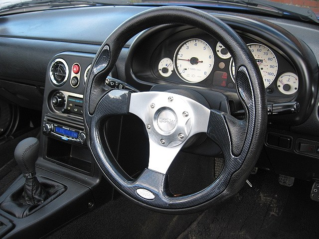 Mazda MX5 Sports Steering Wheel