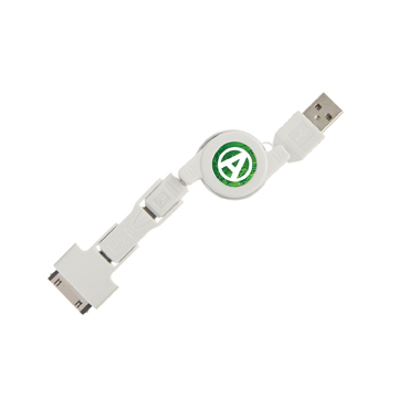 USB Charger with retractable cable & universal adapters / Promotional product fully customized  to your requirement UK Supplier