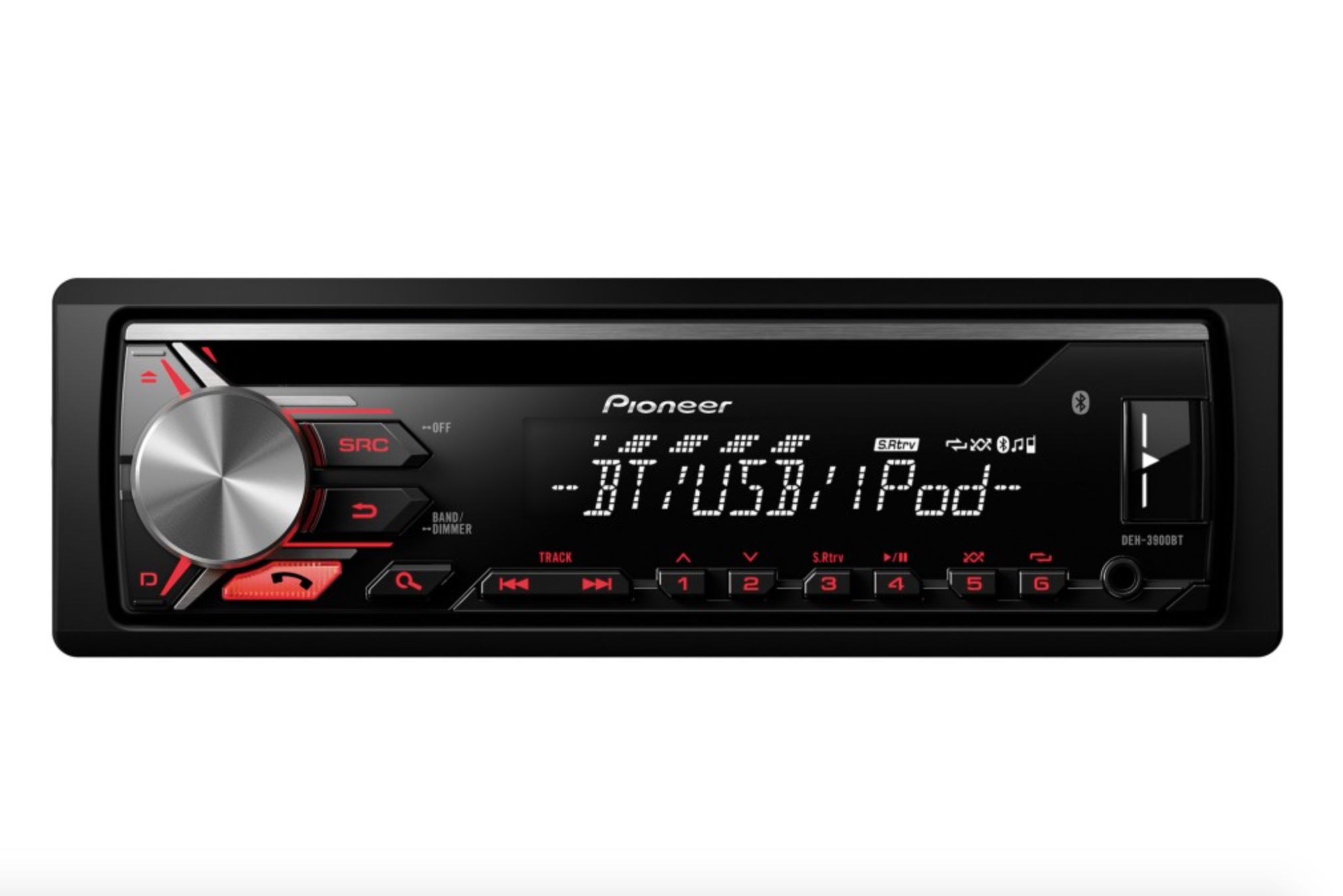 Pioneer DEH-3900BT CD/Tuner with Bluetooth hands-free in-car pho
