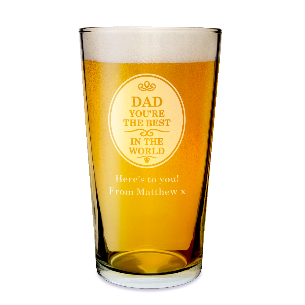 the best in the world pint glass