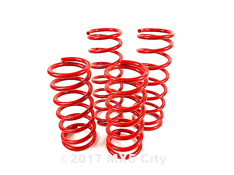 Mazda MX5 lowering springs Mk1 NA