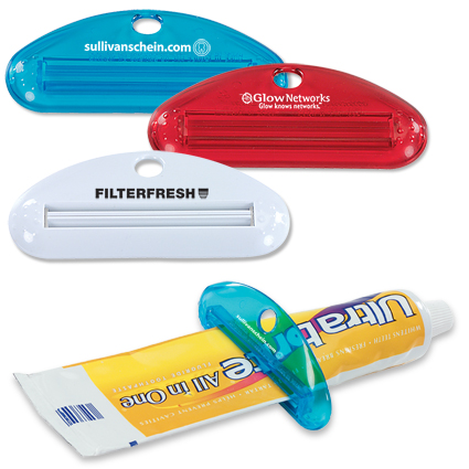 Toothpaste squeezer / Promotional product fully customized  to your requirement UK Supplier