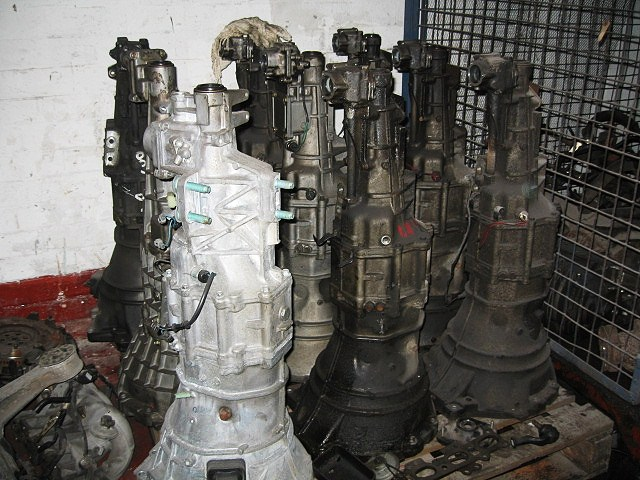Used Clutch & Gearbox