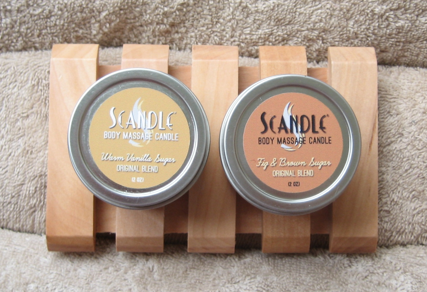 Scandle Body massage Candles