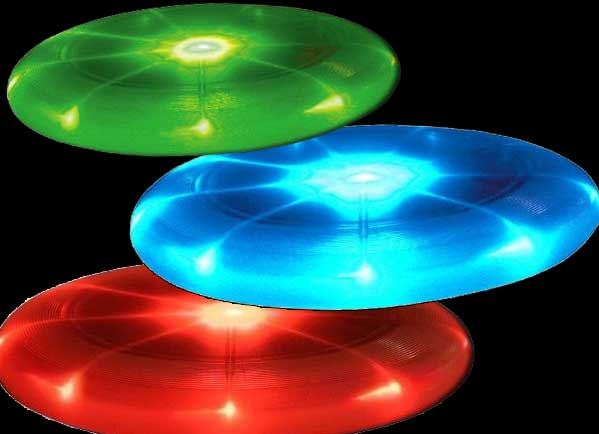LED lights Frisbee / Promotional product fully customized  to your requirement UK Supplier