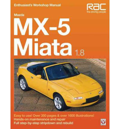 1.8 Workshop Manual for Mazda MX5