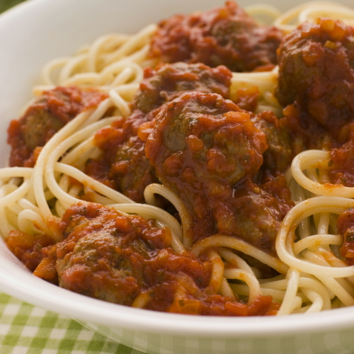 Herby Meatballs in Tomato Sauce - for 4