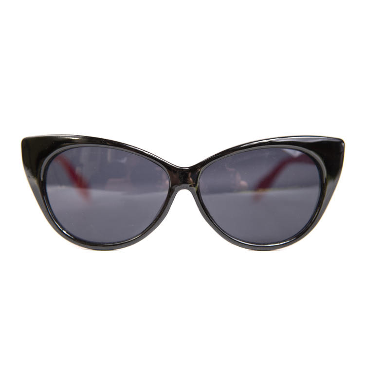 Cats Eye Sunglasses BLACK & RED