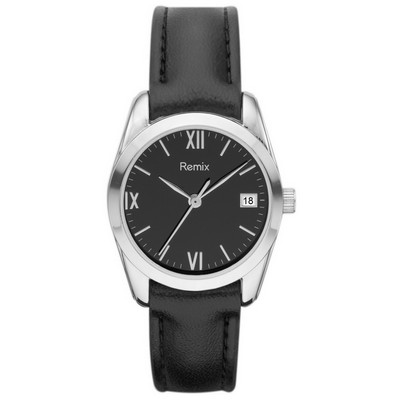 ?Classic Black Leather Watch For Ladies /? Promotional product f