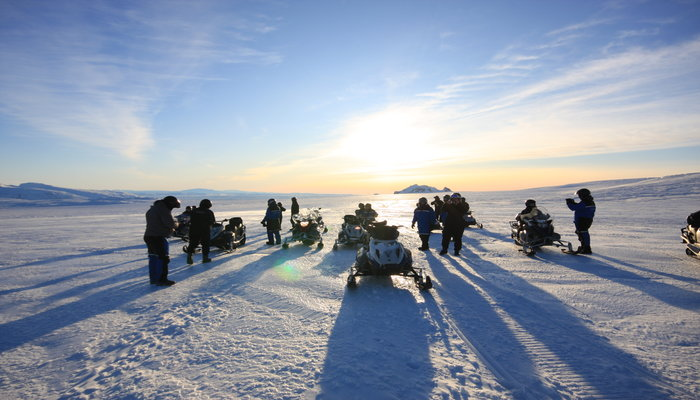Iceland Snowmobiling & Beer Tour