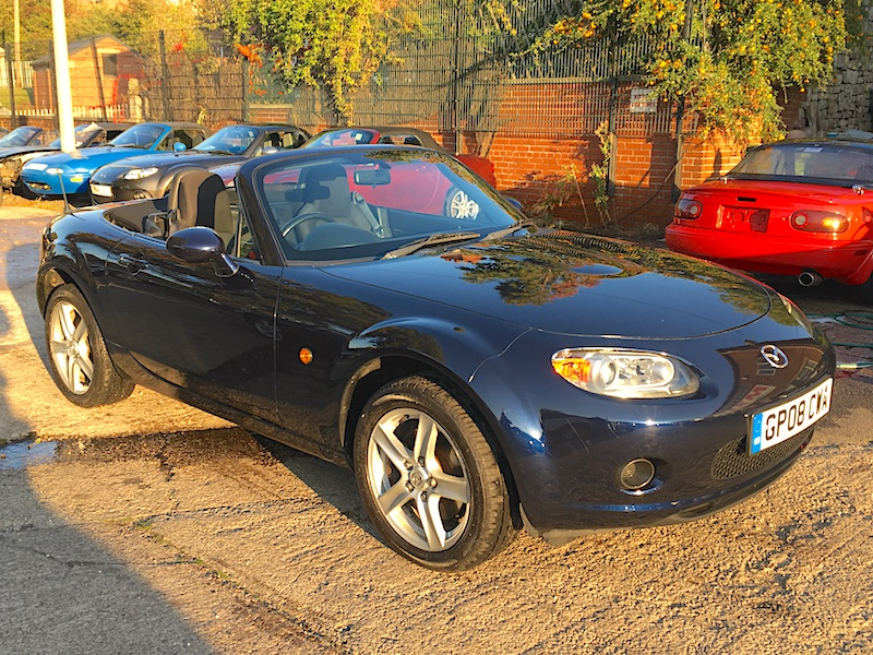 2008 Mazda MX-5 Mk3 1.8 in Stormy Blue