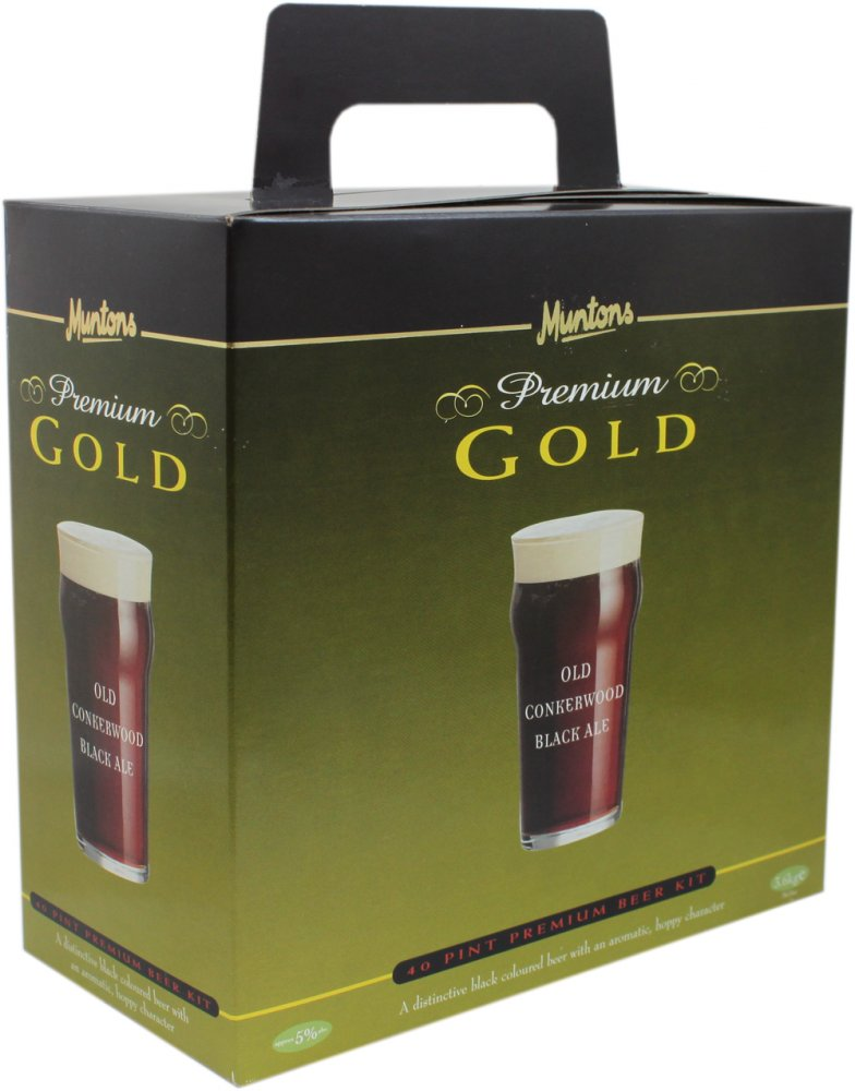 Muntons Premium Gold Conkerwood Ale40 Pint 3.6kg Home Brew Beer Kit