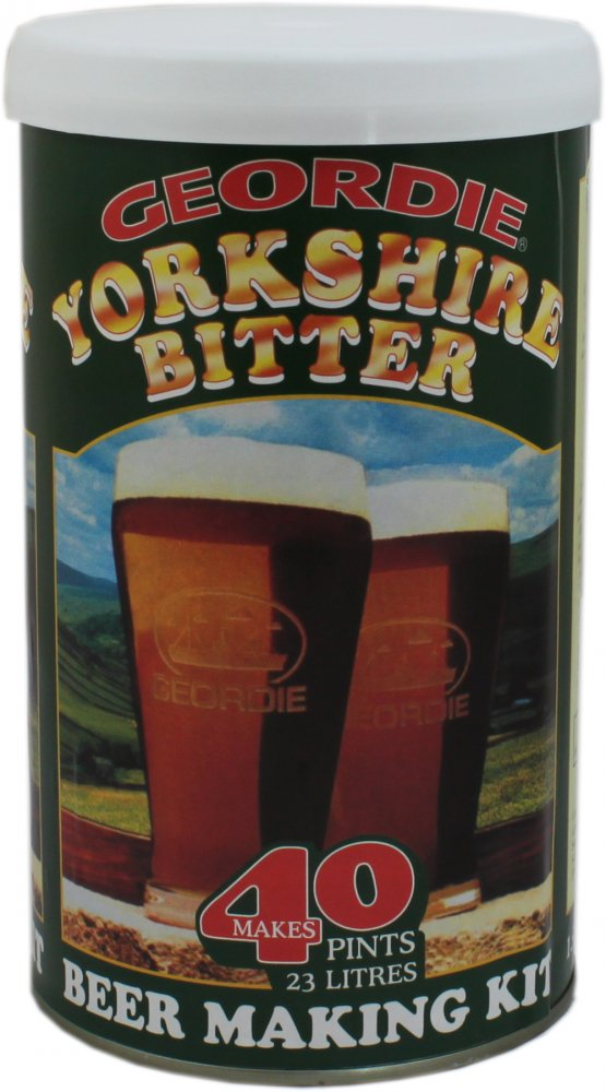 Geordie Yorkshire Bitter 40 Pint 1.6kg Home Brew Beer Kit