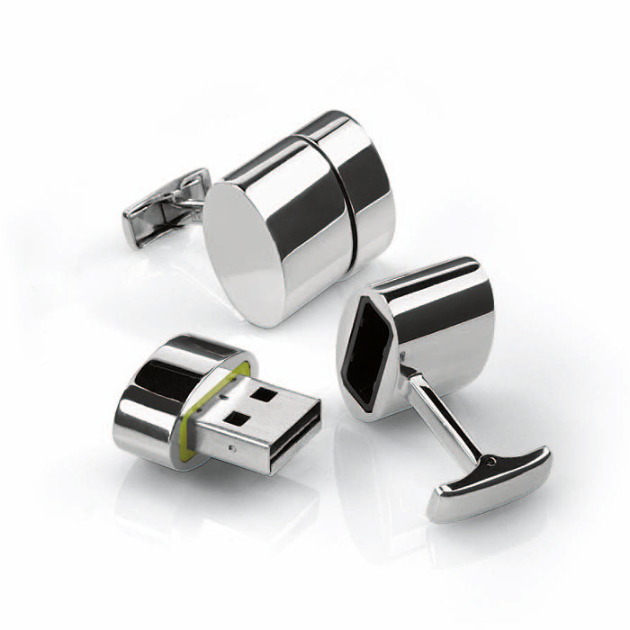 USB cufflinks memory flash drive / Promotional product fully customized  to your requirement UK Supplier