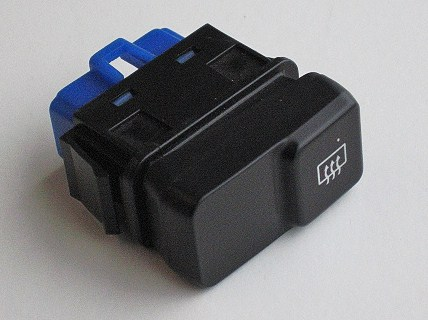 Heated rear window switch blue connector for Mk1