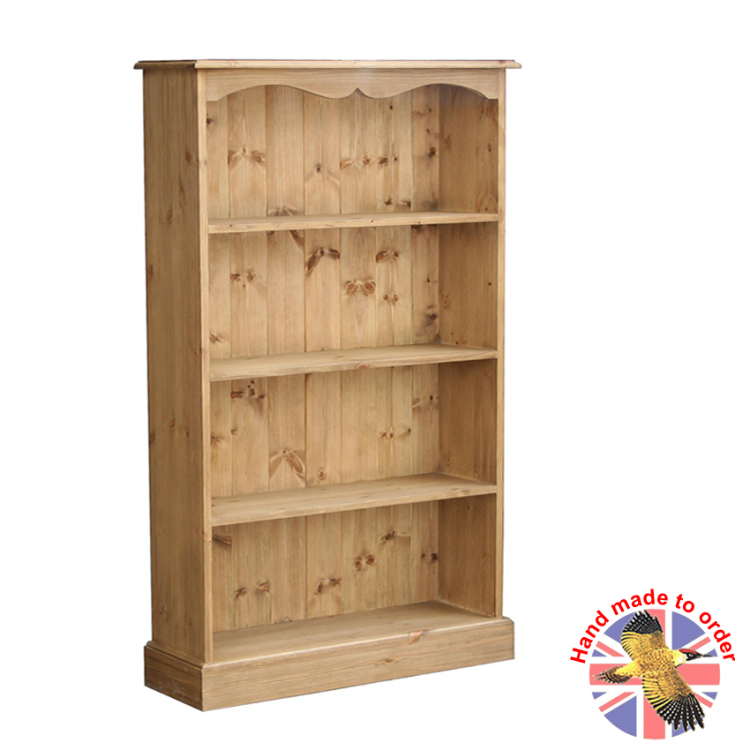 Cottage Pine Fixed Bookcases
