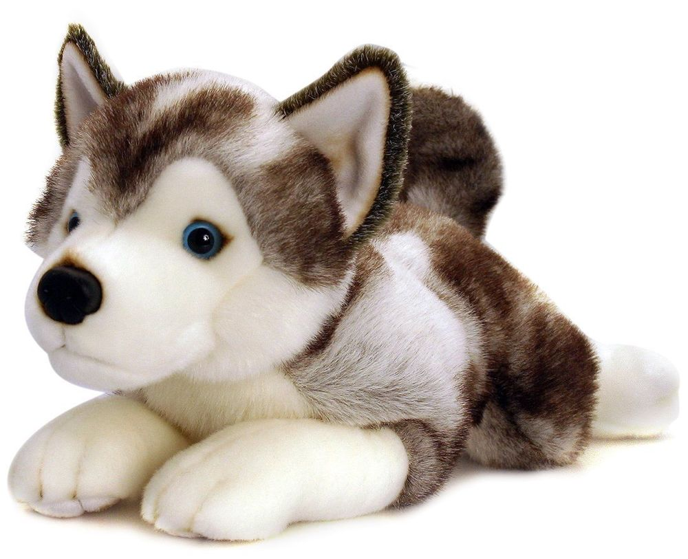 Soft Toy Plush - Husky dog / Promotional product fully customized  to your requirement UK Supplier