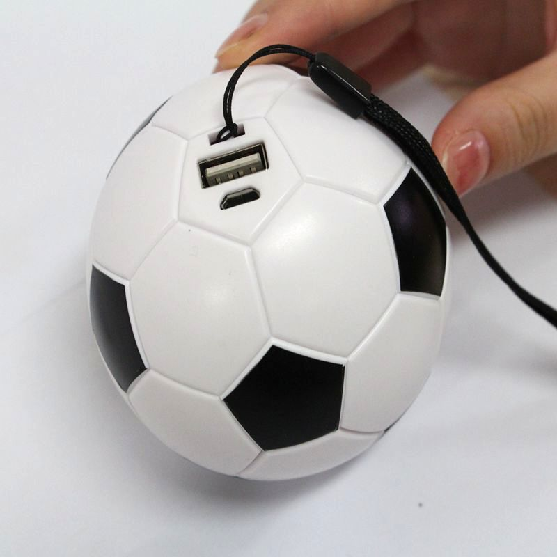 USB Power bank - Football shaped / Promotional product fully customized  to your requirement UK Supplier