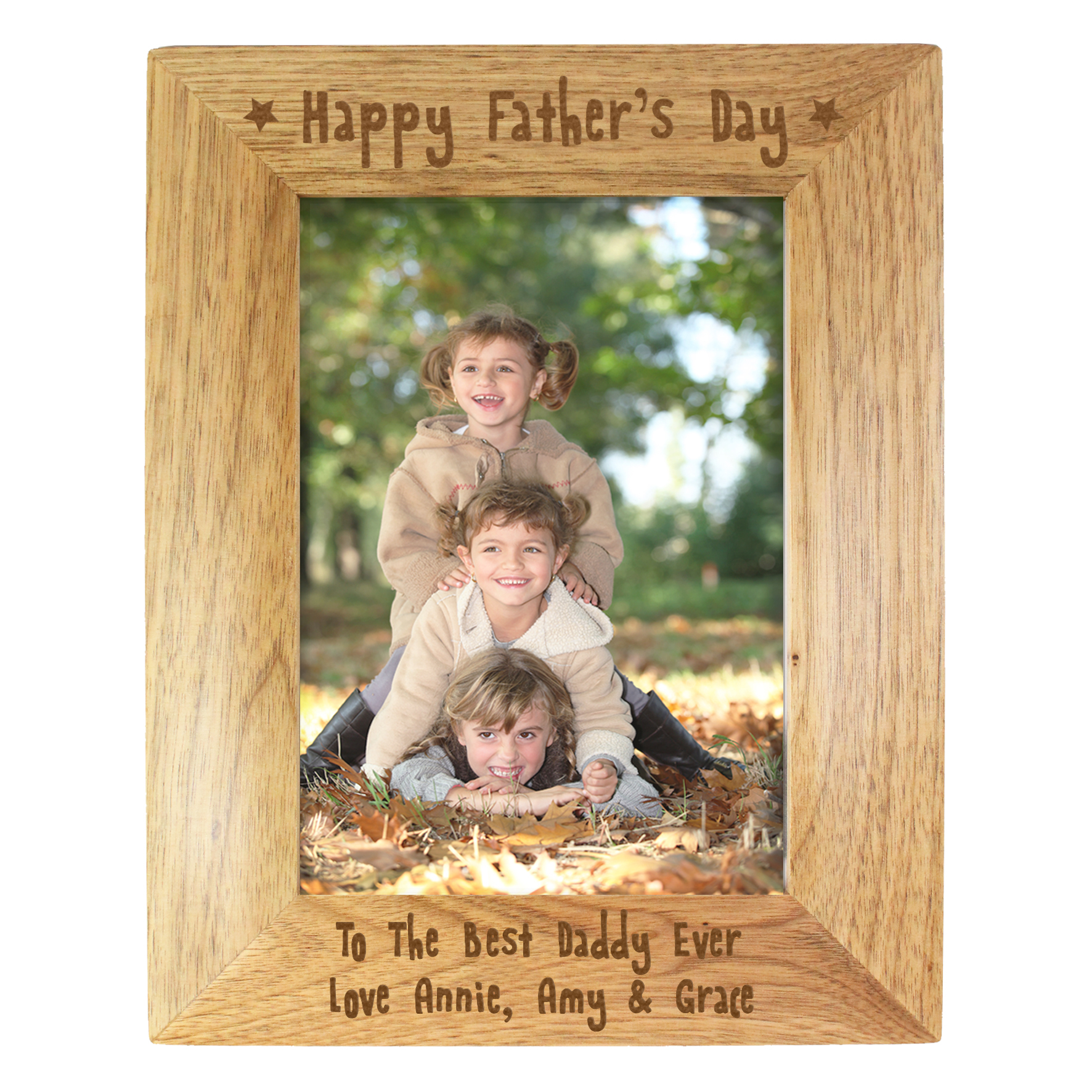 father's day frame 6 x 4