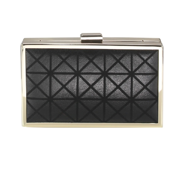 Evening Box Clutch Black