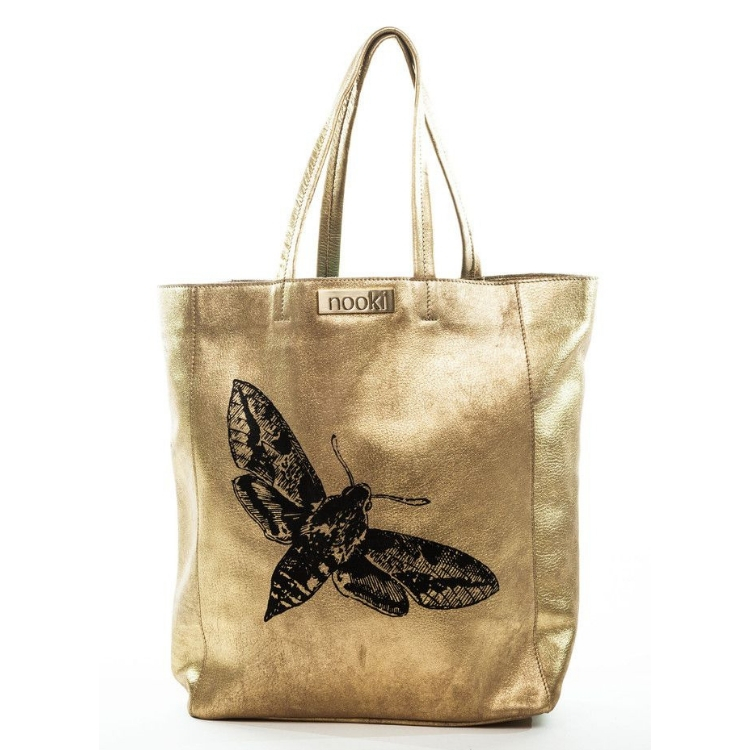 Nooki 'Moth' Tote in Gold