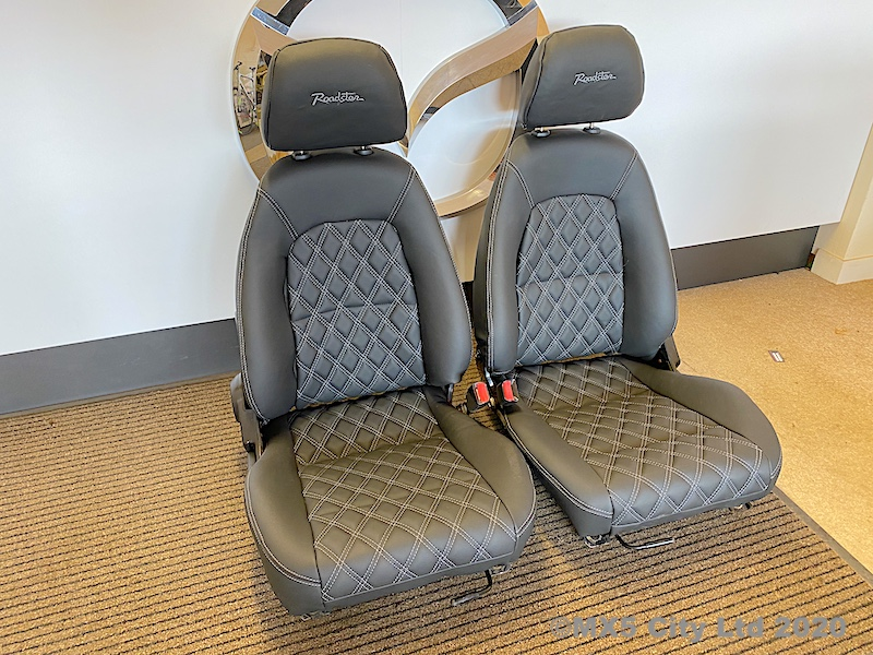 Mazda MX5 diamond pattern seats
