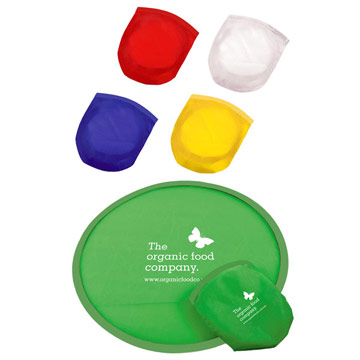 Fold-Up Frisbee / Promotional product fully customized  to your requirement UK Supplier