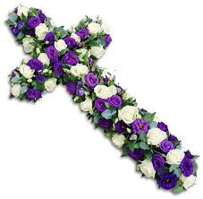 Mixed flowers cross
