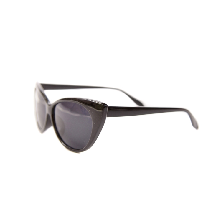 Cats Eye Sunglasses BLACK Side