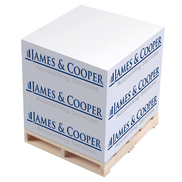 Pallet Block-Mate  Paper  Memo Notepad  / Promotional product fully customized  to your requirement UK Supplier