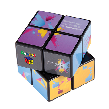 Rubik's 2x2 Cube  / Promotional product fully customized  to your requirement UK Supplier