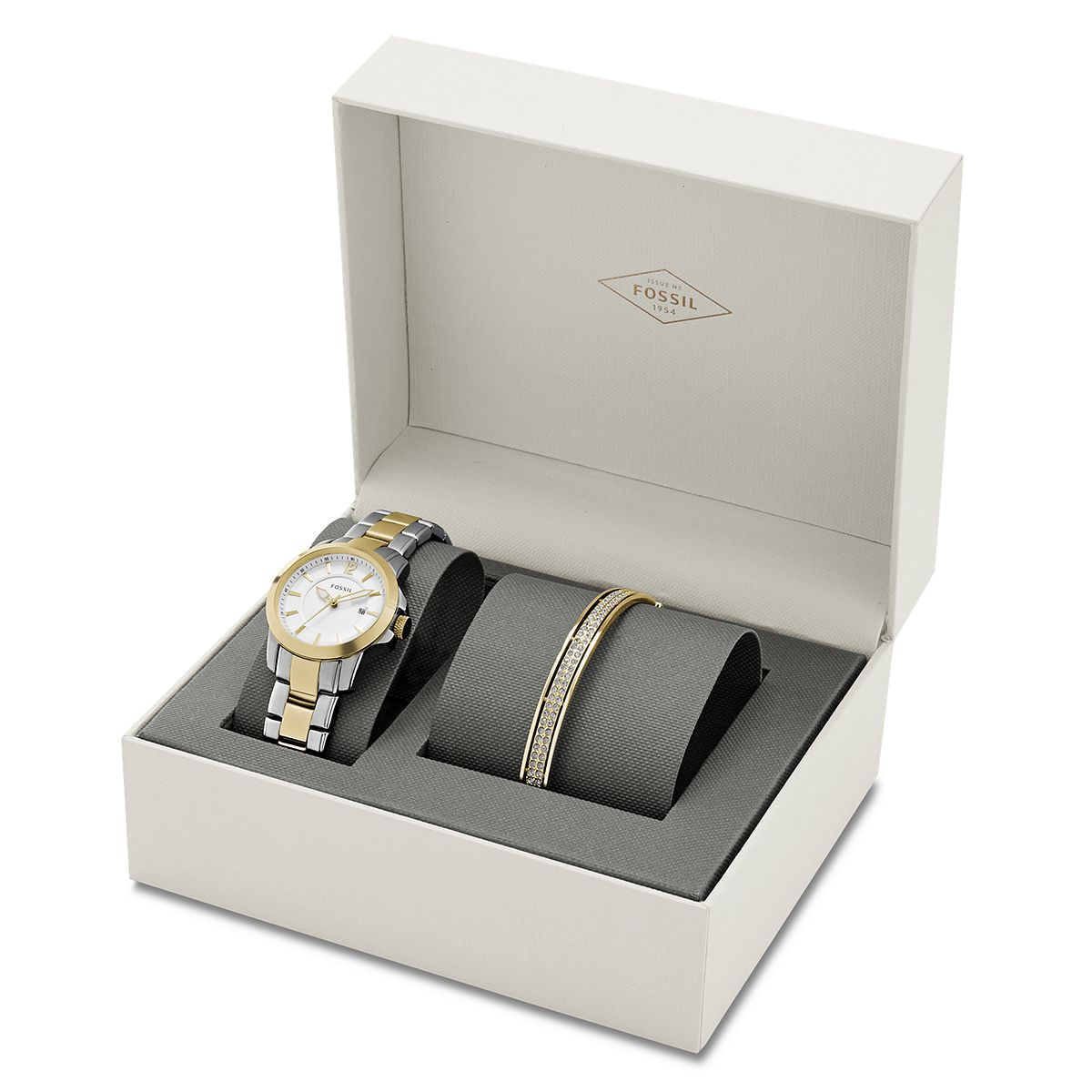 Ladies Classic Casual Watch and Bracelet Set ?/ Promotional prod