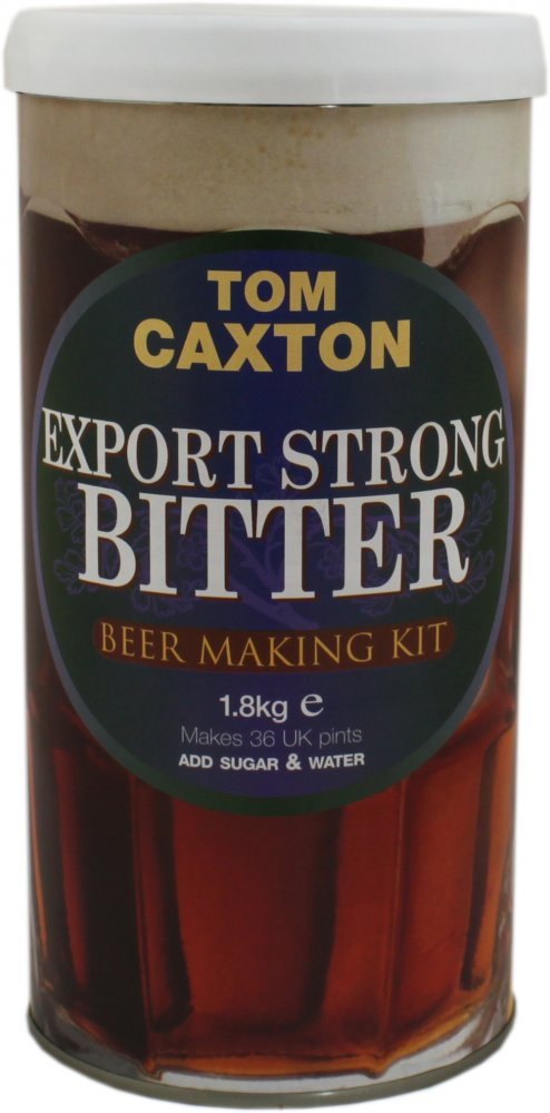 Tom Caxton Export Strong Bitter 40 Pint 1.8kg Home Brew Beer Kit