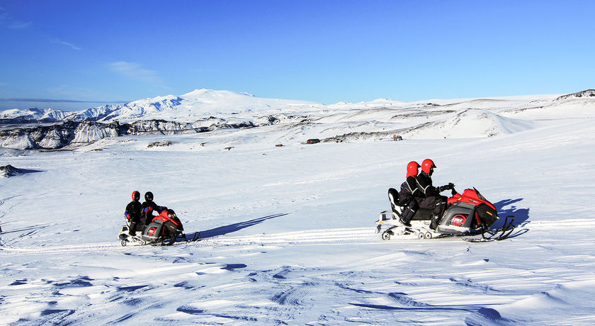 Snowmobiling Glacier Adventure