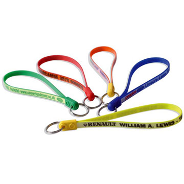 Jumbo Ad-Loop Keyring / Promotional product fully customized  to your requirement UK Supplier