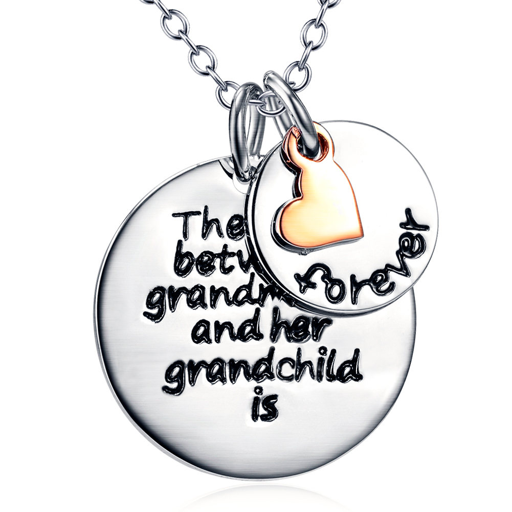 the love between a grandmother necklace