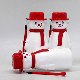 Snow man water bottle / Promotional product fully customized  to your requirement UK Supplier
