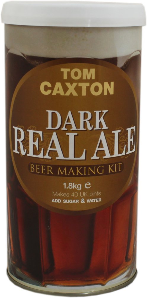 Tom Caxton Dark Real Ale 40 Pint 1.8kg Home Brew Beer Kit