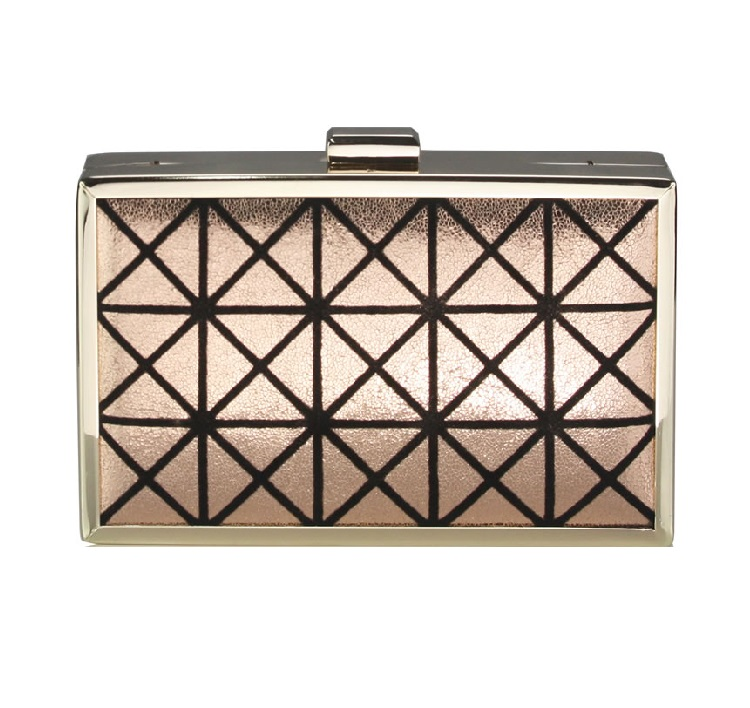 Evening Box Clutch Champagne