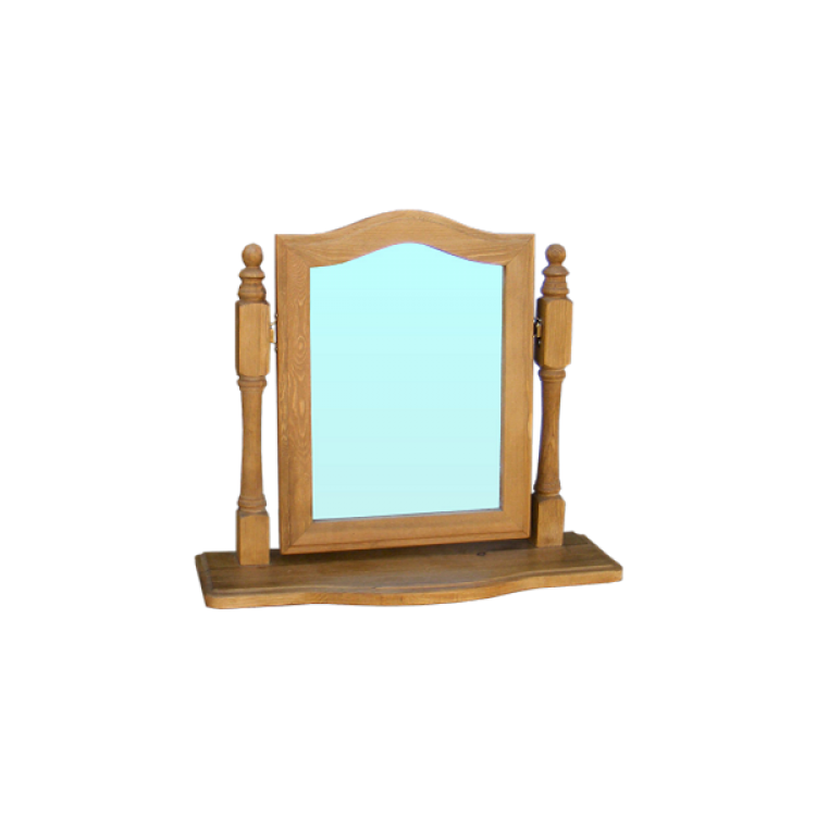 Cottage Pine Single Dressing Mirror