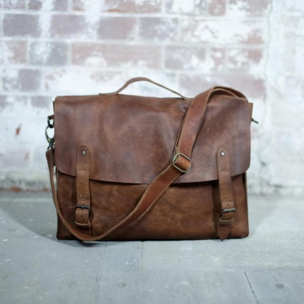 Hand Made Sagara Tanned Satchel